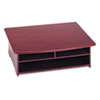 Rolodex Wood Tones Printer Stand, 21 x 18, Mahogany