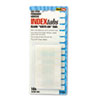 Side-Mount Self-Stick Plastic Index Tabs, One Inc, White, 104/Pack