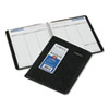 DayMinder Recycled Weekly Planner, Jan.-Dec., Black, 6 7/8