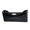 Ultra Hot File Single Pocket Wall File, Legal, Black