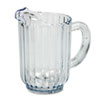 Rubbermaid Commercial Bouncer Plastic Pitcher, 60-oz., Clear