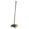 Rubbermaid Commercial Dual Action Sweeper, Boar/Nylon Bristles, 44