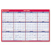 "Recycled Paper Vertical/Horizontal Wall Calendar, 24"" x 36"", 2015"
