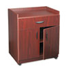 Safco Mobile Laminate Machine Stand w/Pullout Drawer, 30 x 20-1/2 x 36-1/4, Mahogany