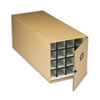 Safco 3051TS Stackable Roll File Storage Box, 16-3/4 x 38-3/4 x 16-3/4, Tropic Sand SAF3051TS SAF 3051TS