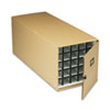Safco 3061TS Stackable Roll File Storage Box, 16-3/4 x 38-3/4 x 16-3/4, Tropic Sand SAF3061TS SAF 3061TS