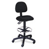 Safco Trenton Series Multi-Task Swivel Stool, Seat: 23-33, Black