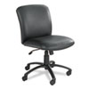 Safco Uber Series Big & Tall Swivel/Tilt Mid Back Chair, Vinyl, Black