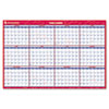 "AT-A-GLANCE Vertical/Horizontal Erasable Wall Planner, 32"" x 48"", 2016"