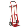 Two-Way Convertible Hand Truck, 300-400lb Capacity, 18w x 51h, Red