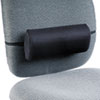 Remedease Lumbar Backrest, 11-1/2w x 2-1/2d x 5h, Black