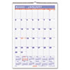 AT-A-GLANCE Erasable Wall Calendar, 15 1/2 x 22 3/4, White, 2015
