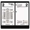 AT-A-GLANCE Financial Desk Calendar Refill, 3 1/2