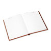 "Standard Diary Recycled Daily Diary, Red, 7"" x 9"