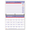 AT-A-GLANCE Recycled Monthly Academic Desk/Wall Calendar, 11