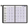 "Recycled Monthly Academic Planner, Black, 7 7/8"" x 11 7/8"", 2012-2014"
