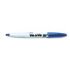 Vis-a-Vis Wet-Erase Marker, Fine Point, Blue, Dozen