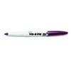 Vis-a-Vis Wet-Erase Marker, Fine Point, Purple, Dozen