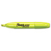 Sharpie Accent Jumbo Highlighter, Chisel Tip, Fluorescent Yellow, 12/Pk
