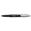 Sharpie Grip Porous Point Stick Permanent Water Resistant Pen, Red Ink, Fine