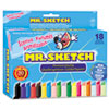 Scented Watercolor Markers, 18 Colors, 18/Set