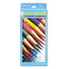 Col-Erase Colored Woodcase Pencils w/ Eraser, 24 Assorted Colors/Set