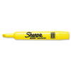Sharpie Accent Tank Style Highlighter, Chisel Tip, Yellow, 12/Pk