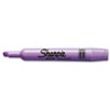 Sharpie Accent Tank Style Highlighter, Chisel Tip, Lavender, 12/Pk