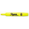 Sharpie Accent Tank Style Highlighter, Chisel Tip, Fluorescent Yellow, Dozen