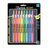 Sharpie Accent Retractable Highlighters, Chisel Tip, Assorted Colors, 8/Set