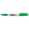 Sharpie Permanent Marker, Fine Point, Green, 1/Each