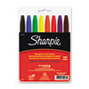 Sharpie Permanent Markers, Fine Point, Assorted, 8/Set