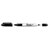 Sharpie Twin-Tip Permanent Marker, Fine/Ultra Fine, Black