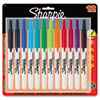Sharpie Retractable Permanent Markers, Fine Point, Asstd., 12/Set