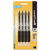 Signo Gel 207 Roller Ball Retractable Gel Pen, Black Ink, Medium, 4 per Pack