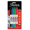 Sharpie CD/DVD Markers, Fine/Ultra Fine Point, Assorted, 4/Set