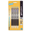 Signo Gel 207 Roller Ball Retractable Gel Pen Blue Ink, Medium, 4 per Pack