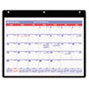 Monthly Academic Desk/Wall Calendar, 11 x 8-1/4, 2012-2013