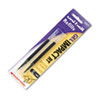 Refill for uni-ball Gel IMPACT RT Roller Ball Pens, Bold, Black, 2/Pack