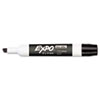 EXPO Low Odor Dry Erase Marker, Chisel Tip, Black, Dozen