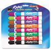 Low Odor Dry Erase Markers, Chisel Tip, Assorted, 16/Set