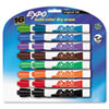 EXPO Dry Erase Markers, Chisel Tip, Assorted, 16/Set