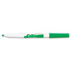 EXPO Dry Erase Marker, Fine Point, Green, Dozen