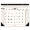 AT-A-GLANCE Recycled Executive Desk Pad, 22