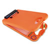 "DeskMate II w/Calculator, 1/2"" Capacity, 8-1/2w x 11-3/4h, Orange"