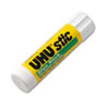 UHU Stic Permanent Clear Application Glue Stick, .29 oz
