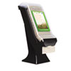 Stand Napkin Dispenser, 8&quot; w x 5 2/5&quot; d x 19 1/2&quot; h , Black