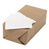 Advanced Dispenser Napkins, Single-Ply, 13 x 12, White, 6000/Carton