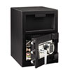 Sentry Safe Depository Safe, 1.09 ft3, 14w x 15 3/5d x 24h, Black