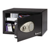 Sentry Safe Electronic Lock Security Safe, 1.0 ft3, 16-15/16w x 14-9/16d x 8-7/8h, Black